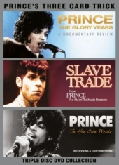 Prince - Three Card Trick (3 Dvd) Documentar