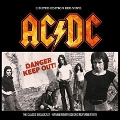 AC/DC - Danger - Keep Out! - Red Vinyl