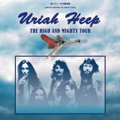 Uriah Heep - High And Mighty Tour (White)