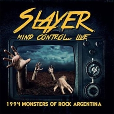 Slayer - Mind Control Live 1994 Argentina