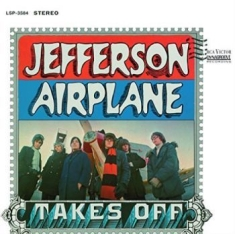 Jefferson Airplane - Takes Off (Blue Vinyl / Stereo Edit