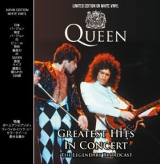 Queen - Greatest Hits In Concert (White Lp)
