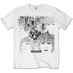 The beatles - Men's Tee: Revolver Album Cover