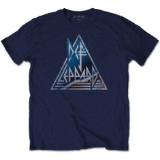 Def Leppard - Men's Tee: Triangle Logo