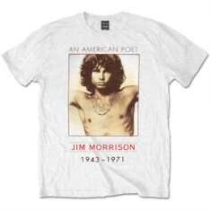 The Doors - Men's Tee: American Poet XL