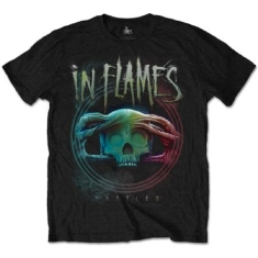 In Flames - Men's Tee: Battles Circle M