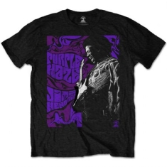 Jimi Hendrix - Men's Tee: Purple Haze