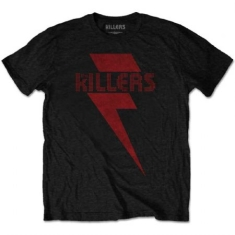 The Killers - Men's Tee: Red Bolt M