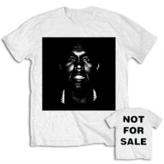 Kanye West - Men's Tee: Not For Sale with Back Printing M