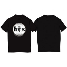 The beatles - T-shirt Drum skin XL