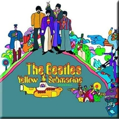 Beatles - THE BEATLES FRIDGE MAGNET: YELLOW SUBMARINE