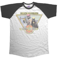 Black Sabbath - Raglan T-shirt Never Say Die Tour 1978 (XL)