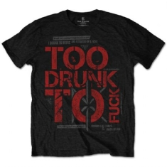 Dead Kennedys Too Drunk T-shirt (L)