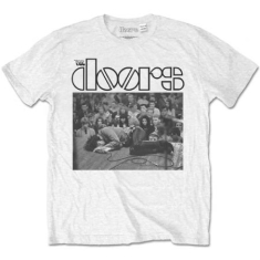 The Doors Jim On the Floor White T-shirt XL