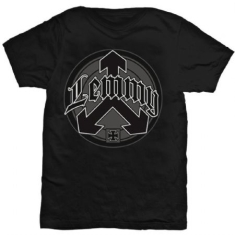 Lemmy Arrow Logo T-shirt XL