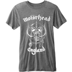 Motörhead England (Burn Out) T-shirt M