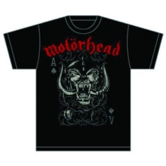 Motörhead - Motörhead Playing Card T-shirt XL