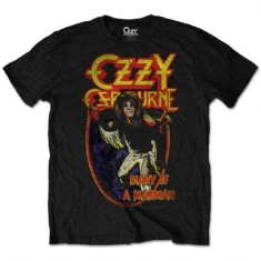 Ozzy Osbourne Diary of A Madman T-shirt L