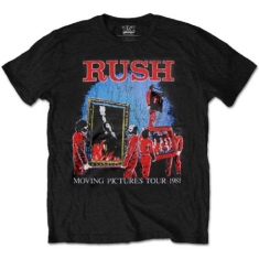 Rush - Rush Moving Pictures Tour T-shirt L