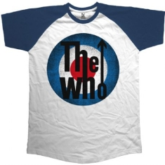 The Who - The Who Vintage Target Raglan T-shirt M