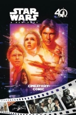 Star Wars A NEW HOPE 40th ANNIVERSARY CINESTORY COMIC