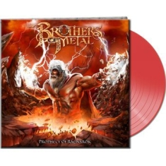 Brothers Of Metal - Prophecy Of Ragnarök (Clear Red Vin