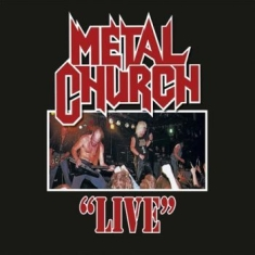 Metal Church - Live (Transparent Red Lp)