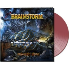 Brainstorm - Midnight Ghost (Gatefold Clear Red