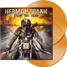 Herman Frank - Fight The Fear (2 Lp Orange Vinyl)