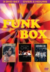J Brown, N Rodgers,Chic, Earth Wind - The Funk Box