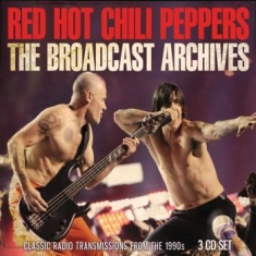 Red Hot Chili Peppers - Broadcast Archives The (3 Cd)
