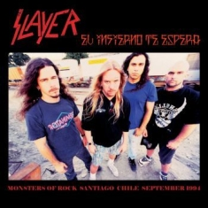 Slayer - Monsters Of Rock Chile '94 (Red Lp)