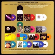 Queen - Compl Studio Albums Ltd Pic (18Lp)