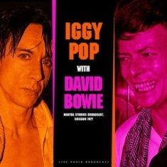 Pop Iggy & David Bowie - Best Of Live At Mantra Studios Broa