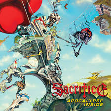 Sacrifice - Apocalypse Inside (Red Vinyl)