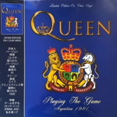 Queen - Playing The Game Argentina (Clear)