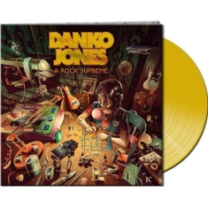 Danko Jones - A Rock Supreme (Clear Yellow Vinyl)