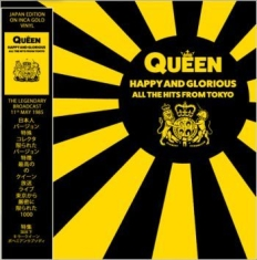 Queen - Happy & Glorious All The Hits Tokyo