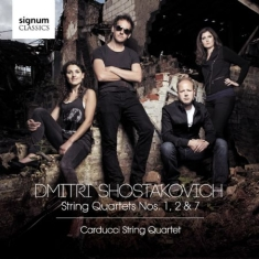 Shostakovich, Dmitry - String Quartets Nos. 1, 2 & 7