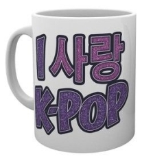 K-POP - Love Hangul - boxed Mug