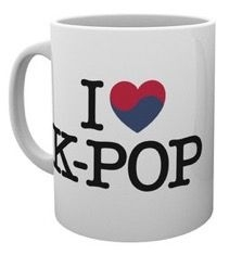 K-POP - I Heart K-Pop - boxed mug