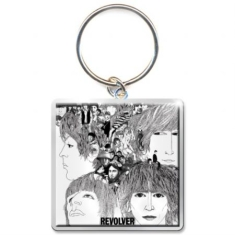 The beatles - THE BEATLES STANDARD KEYCHAIN: REVOLVER ALBUM