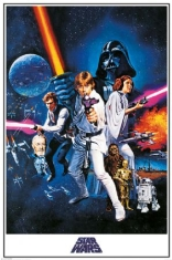 STAR WARS - Star Wars A New Hope (One Sheet)