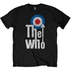 Who - THE WHO MEN'S TEE: ELEVATED TARGET i gruppen MERCHANDISE / Petersrockoffdincdt-shirt hos Bengans Skivbutik AB (3586096)