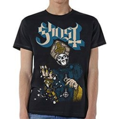 Ghost - GHOST MEN'S TEE: PAPA OF THE WORLD Size M.