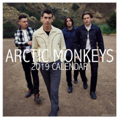 Arctic  Monkeys - 2019 Calender