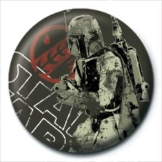 STAR WARS - Star Wars (Boba Fett Distressed) Pin Badge