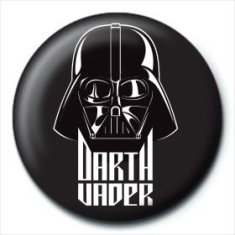 STAR WARS - Star Wars (Darth Vader Black) Pin Badge