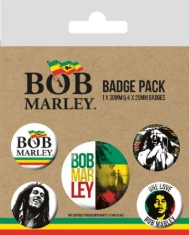 Bob Marley - Bob Marley Badge Pack