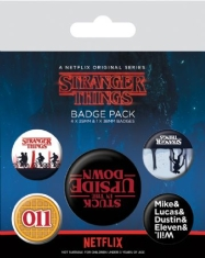 Stranger Things - Stranger Things (Upside Down) Badge Pack
